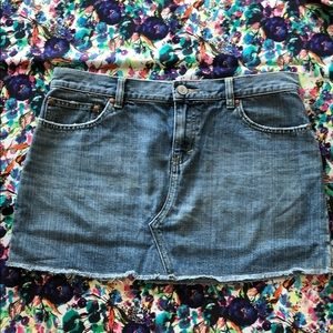 Old Navy a denim skirt size 10